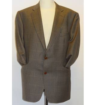 Magee - Green/Brown - Single breasted wool suit.