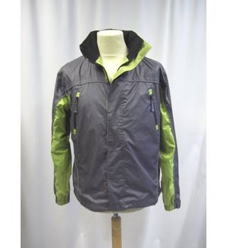 GTI Outdoors - Size: M - Grey and Green - Raincoat