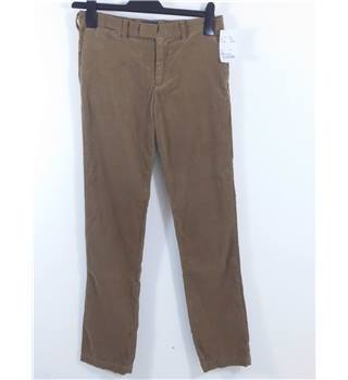 BNWT Polo by Ralph Lauren Age 14 Years Light Brown Corduroy Trousers