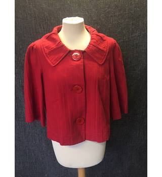 Women's Red Size 12 Jacket