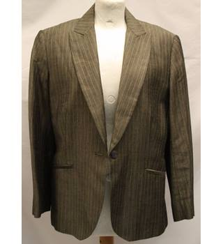 Laura Ashley - Size: 14 - Brown - Smart jacket / coat