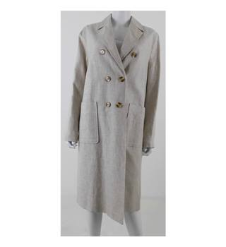 M&S Twiggy for Classic Size 18  Beige Casual Coat