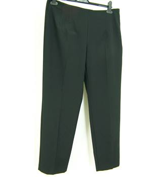 M&S Marks & Spencer - Size: 14S - Black - Trousers