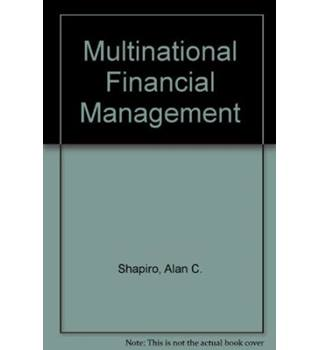Multinational Financial Manage