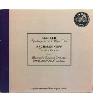 "Mahler: Symphony No. 1 ""Titan"" - Rachmaninoff: The Isle of the Dead - Dimitri Mitropoulos"