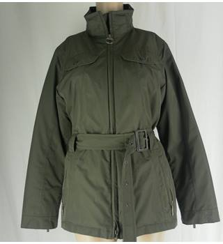 Khaki green Barbour jacket - size 10 Barbour - Size: 10 - Green - Casual jacket / coat