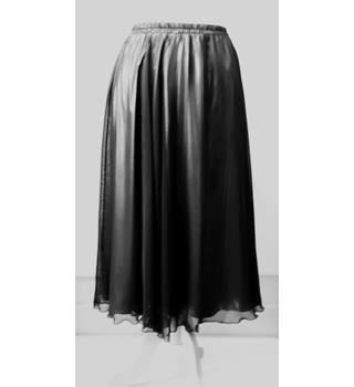 Opera by Richards Black & Gold Evening Skirt