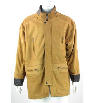 Pro Speed - Size XXL - Tan - Leather Coat