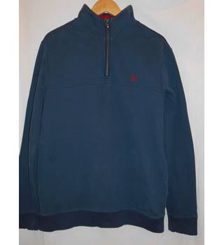 Mens Crew Clothing Sweater Size M Crew Clothing - Size: M - Blue