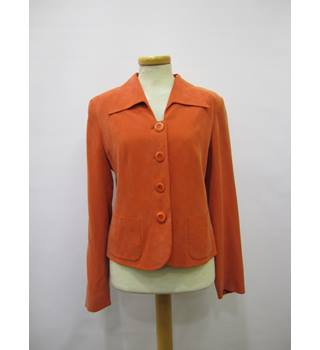 Hobbs - Size: 10 - Orange - Smart jacket / coat