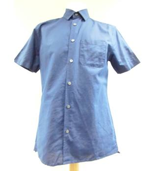 M&S Marks & Spencer - Size: S - Blue - Short sleeved