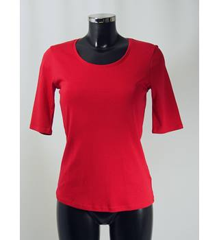 BNWT M&S T-Shirt - Red - Size 10 M&S Marks & Spencer - Size: 10 - Red