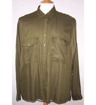 Limited Edition for M&S collection Marks & Spencer - Size: 16 - Green - Long sleeved shirt