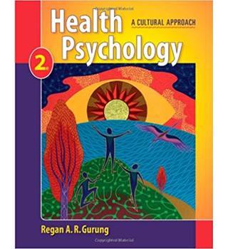 Health psychology - a cultural approach