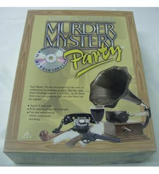 Murder In The Thirties : Murder Mystery Party Game ** COMPLETE **