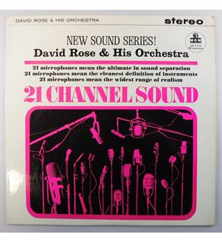 21 Channel Sound David Rose and His Orchestra - CS 6057