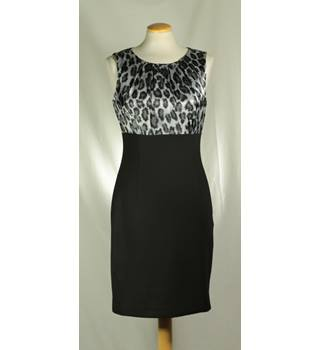 Wallis - Size: 8 - Black - Sleeveless Dress