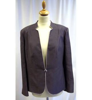 Jacques Vert - Size: 18 - Brown - Smart jacket