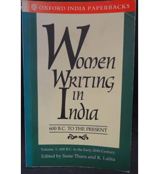 Women Writing in India, Vol 1,  600 BC to the Early 20th Century