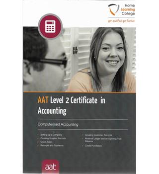 AAT Level 2 Certificate in Accounting: Computerised Accounting