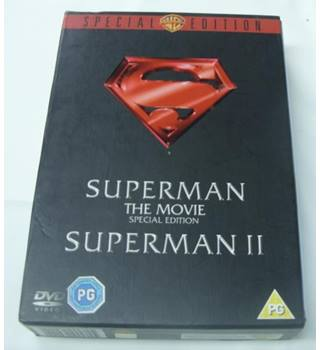 Superman 1 and 2 (Special Edition) DVD Set PG