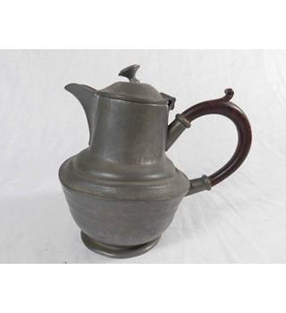 Argent Pewter coffee pot English made