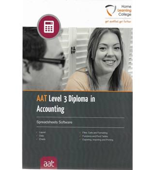AAT Level 3 Diploma in Accounting: Spreadsheets Software