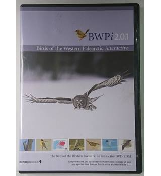 BWPi 2.0.2 The Birds of the Western Palearctic on interactive DVD-ROM