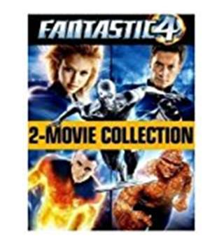 Fantastic 4 2 movie collection and Rise of the silver surfer PG