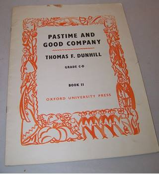 Pastime and Good Company - Thomas F Dunhill Grade C-D - Book II