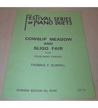 Festival Series of Piano Duets - Cowslip Meadow and Sligo Fair from Four-Hand Fancies - Curwen Edition no 9746