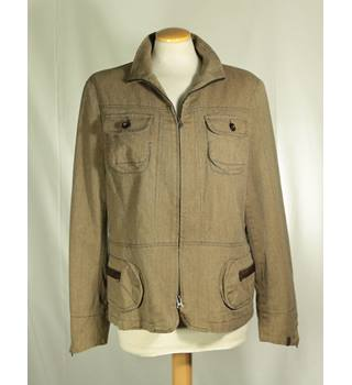 Jocavi - Size: 16 - Brown - Casual jacket / coat