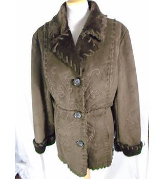 BNWT First Avenue - Size: 12 - Brown - Casual jacket / coat