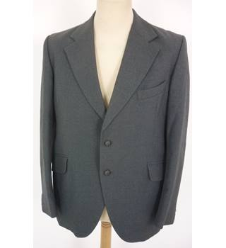 "John Collier Size: M, 40"" chest, tailored fit Pebble Grey Smart/Stylish  Wool Single Breasted Jacket."