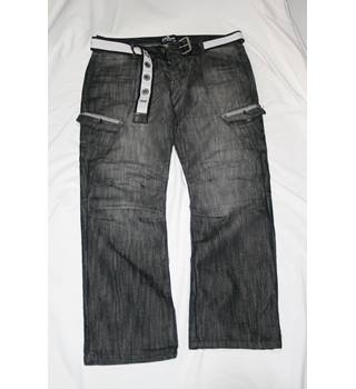 Men's 'Catwalk' grey jeans Size: 34""