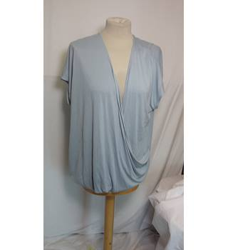 Per Una Pale Blue Size 22 top Per Una - Blue - Cap sleeved T-shirt