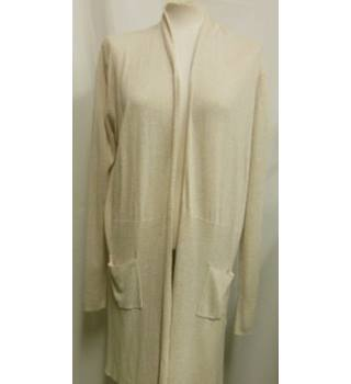 NWOT M&S Collection Size M Oatmeal Cardigan