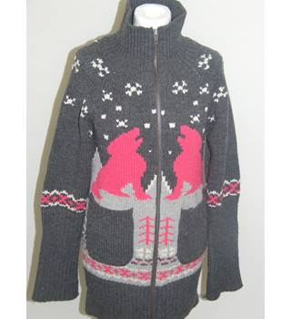 50% OFF SALE Women's Knitted Christmas Cardigan French Connection FCUK Size XS French Connection - Size: XS