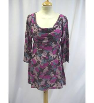 White Stuff - Size: 8 - Purple - Mid Sleeved Top