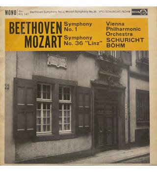 Beethoven and Mozart Symphonies.  Vienna Philharmonic Orchestra/Bohm.  Decca ACL 147  Mono