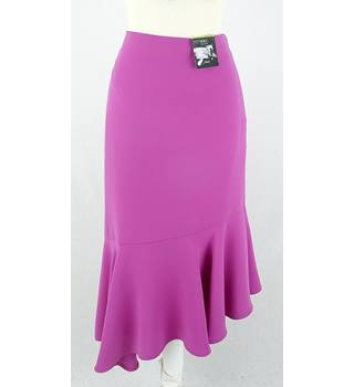 BNWT Marks & Spencer - Pink - Asymmetric Hem Skirt