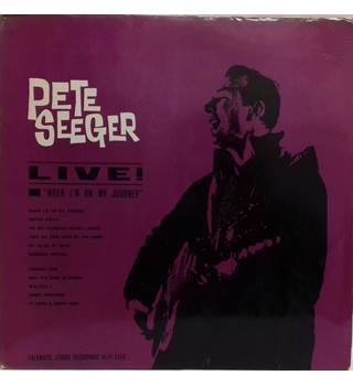 "Live ""When I'm on my Journey"" - Seeger, Pete"