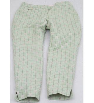 "Ted Baker - Size: 34"" - Green and gold trousers"