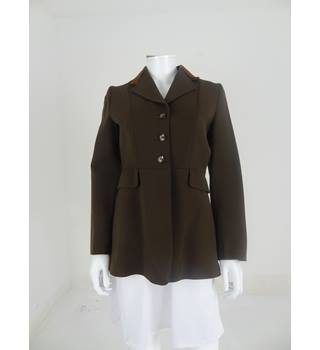 "Vintage Caldene Size 34"" Chest Brown Riding Coat"