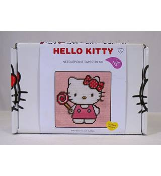 Hello Kitty Needlepoint Tapestry