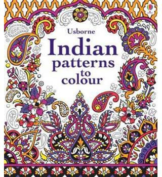 Indian Patterns to Colour
