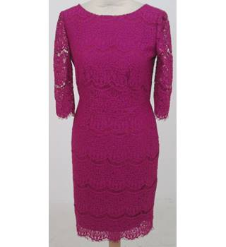 Darling size: S magenta pink lace dress