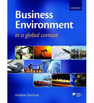 Business environment in a global context