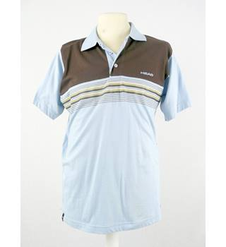 BNWT - Head - Size: L - Blue/Brown - Polo Shirt