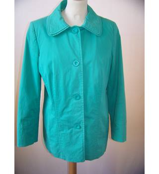 Per Una - Size: 12 - Green - Casual jacket / coat